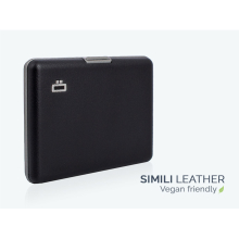 Ögon Big Stockholm Card Holder Kartenetui RFID-safe Simili Leder Schwarz