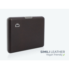 Ögon Big Stockholm Card Holder Kartenetui RFID-safe Simili Leder Braun