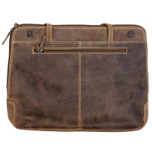 Greenburry VINTAGE 1745B-25 Leder XL-Business Shopper mit...