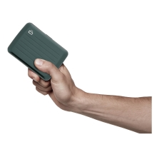 Ögon Stockholm V2 Card Holder Kartenetui RFID-safe wasserdicht Platin