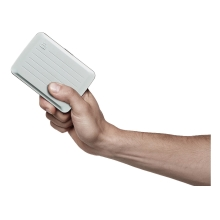 Ögon Stockholm V2 Card Holder Kartenetui RFID-safe wasserdicht Silber