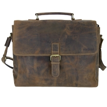 Greenburry Vintage 1656-25 Leder Aktentasche